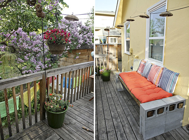 a more lively patio
