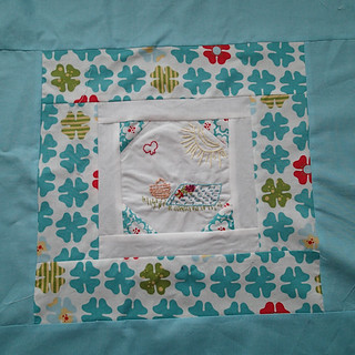 embroidery 101 block 6 finished