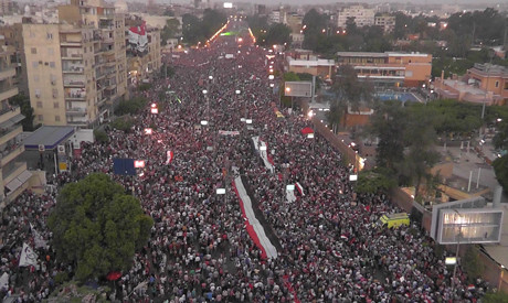 Millions of Egyptians took to the streets on June 30 2013 demanding early elections to oust President Mohamed Morsi. Many say he has not moved the country forward. by Pan-African News Wire File Photos