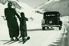 Skijöring - kdo aco vše kdy tahalo lyžaře