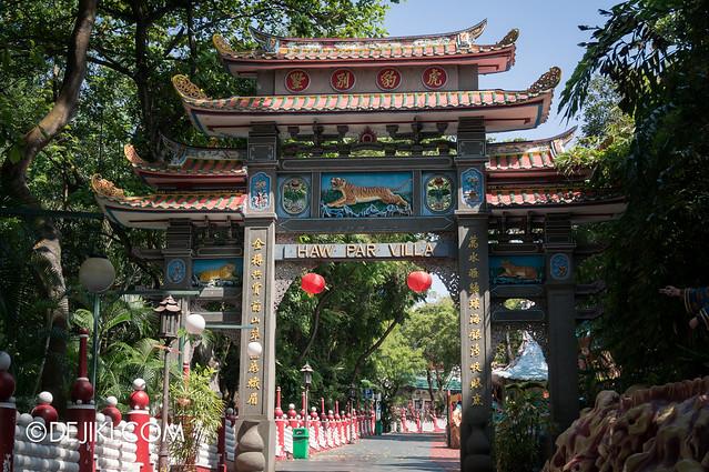 Haw Par Villa - gateway