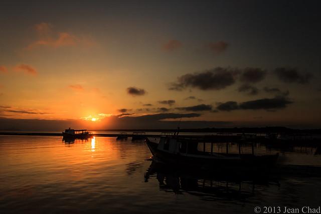 Pôr do Sol na Ilha do Mel 3