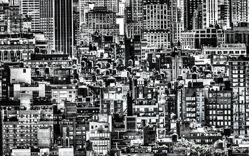 Urban Jungle New York Manhattan b&w Black and white (Explored!)