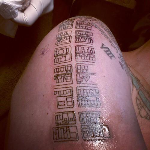 Tattoo. Montreal. Mile End. Rue St Viateur