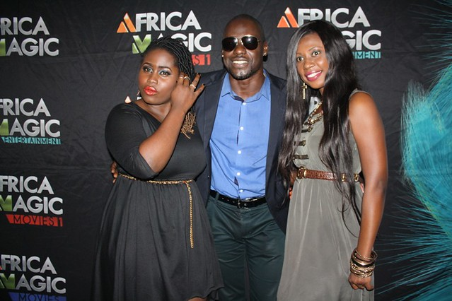 Lydia Forson, Chris Attoh and Selly