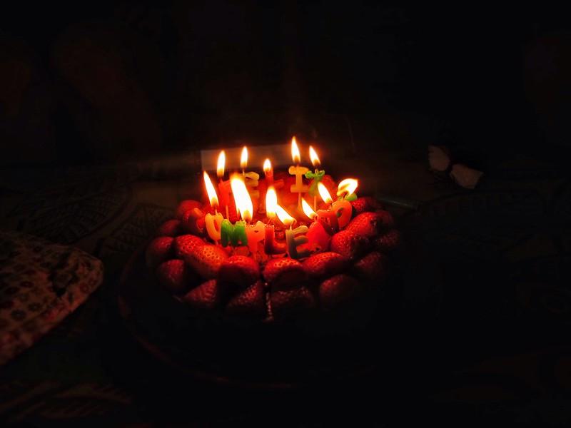 Feliz cumpleaños cake