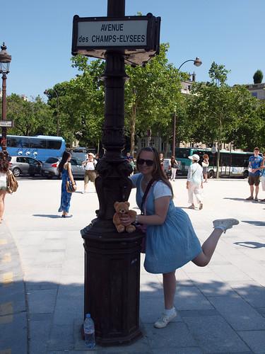 Champs Elysées Lanternpole
