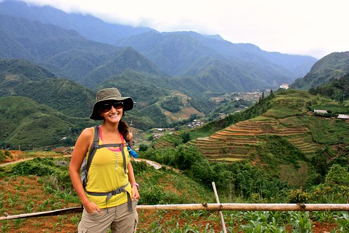 The beginning of our three day trek in Sapa