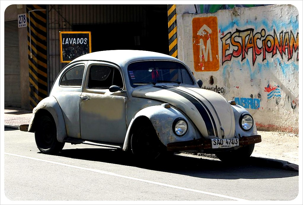 montevideo vw beetle