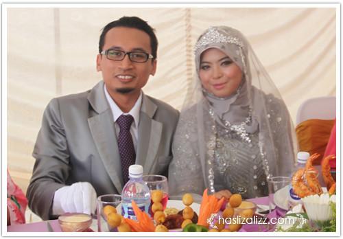 9567827976 c7e6775a1a Majlis kahwin Anwar Fikri tema kelabu dan ungu