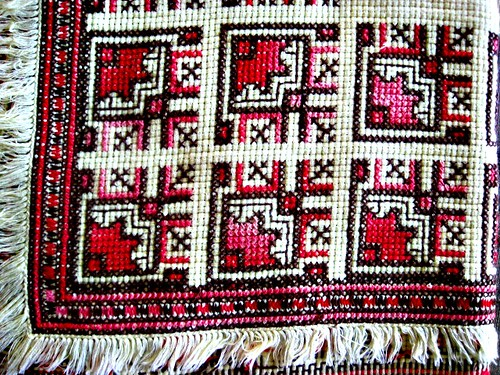 mums cross stitch circa early 1970s by Poppie_60