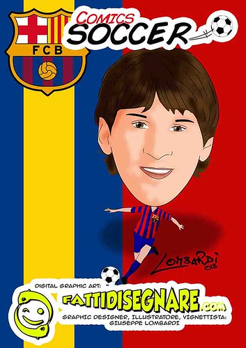 Lionel Messi by Giuseppe Lombardi