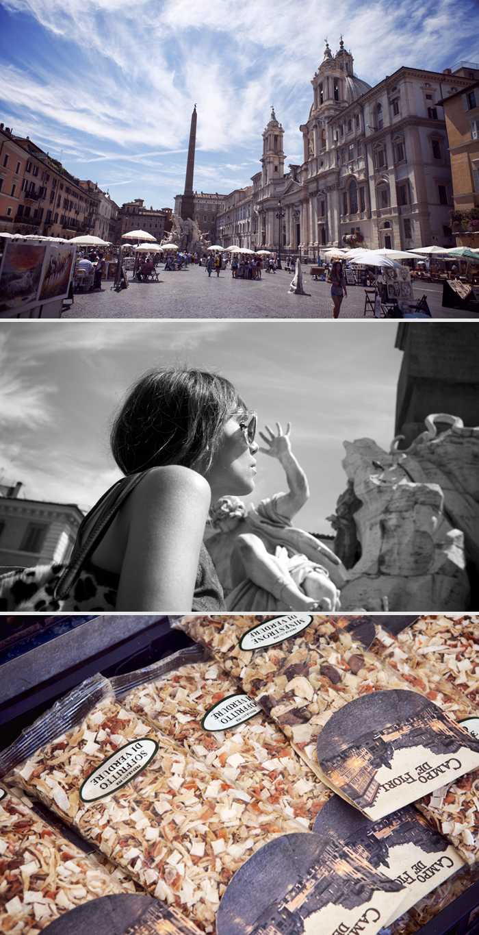 street style barbara crespo holidays cruisse travels italy rome outfit