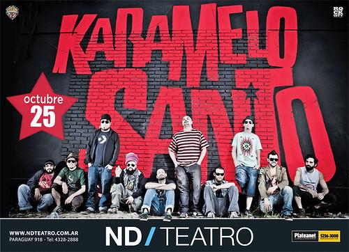 ND Teatro - KARAMELO SANTO