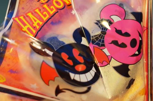 Disney Halloween seafood bun