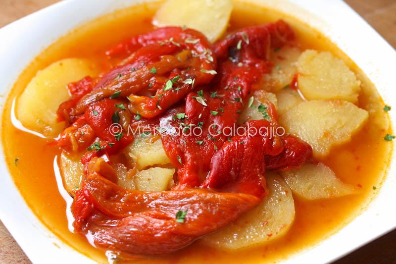 recetas con pimiento rojo