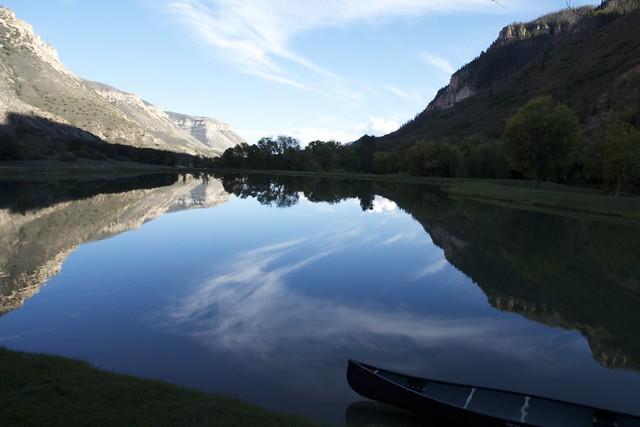 Canoe on Pond-Week 36