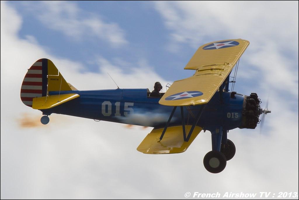 Stearman Roanne Stearman.fr, Meribel Air Show 2013