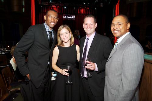Travis Reid of NBC Washington, Katie Conway of NBC Washington, Seth Niman of MDB Communications, and Ray Riller of NBC Washington