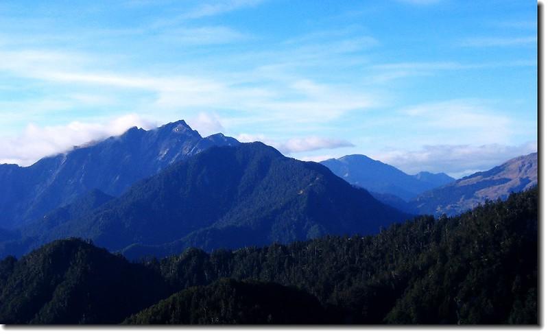 奇萊山(From 羊頭山) 2