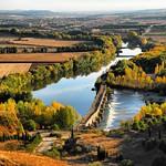 Ruta del Río Duero. Toro, río Duero