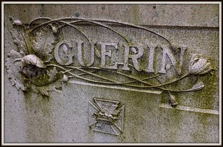 Woodlawn Cemetery: Detail, Guerin Memorial--Detroit MI