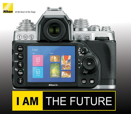 Nikon Dfx powered by Windows Touch