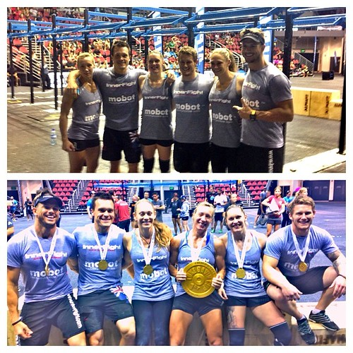 Great to win @immortalschallenge with this awesome team! #crossfit #fitness #competition #goldcoast #australia