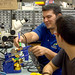 <p>Students from the University of Hawaiʻi at Mānoa Small Satellite Program working in their College of Engineering laboratory. The team constructed a cube satellite that is scheduled to be launched into space by NASA on November 19, 2013 at the Wallops Flight Facility in Virginia.</p>
