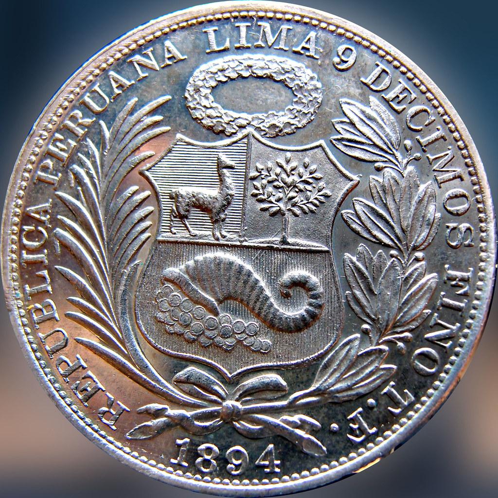 Peru - Un Sol 1894 11100809673_6a8ab83091_b