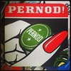 Vintage Pernod! beer mat by zombikombi1959