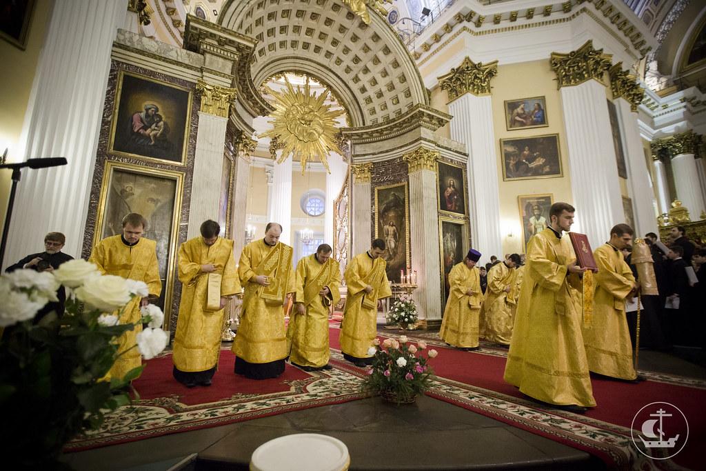 6 декабря 2013, Литургия в день памяти святого благоверного князя Александра Невского