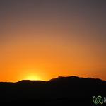 Sunset in the Desert - Aus, Namibia