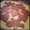 Making gingerbread cookies. by CaliWitch