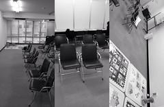 渋谷区役所 保育園申し込みの待合室