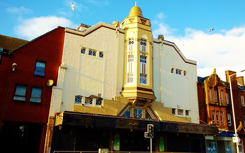 Art Deco Architecture, Ayr, Scotland