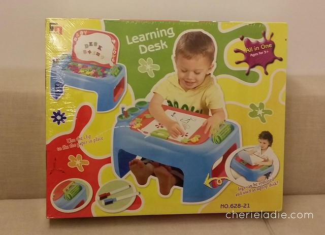 All in One Learning Desk up for grabs in #MICE12DaysofChristmas Giveaway
