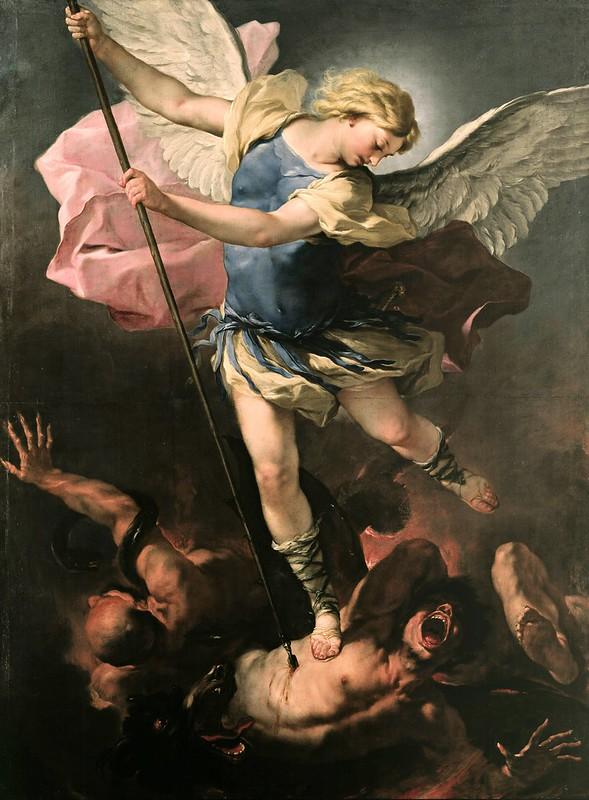 Luca Giordano - St. Michael