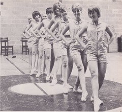 Glendale Community College 1966:Pom pon girls 1