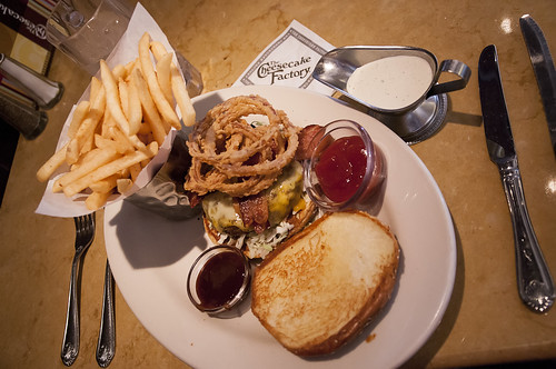 Cheesecake Factory burger