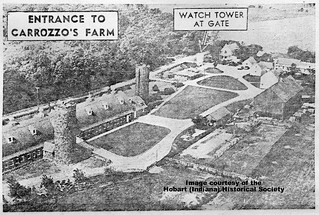 Entrance to Carrozzo farm