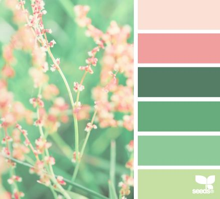 pastel color palette for your blog template, palette di colori pastello