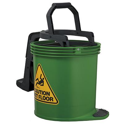 Oates Duraclean Mark II Wringer Bucket Green SBKTIW008G