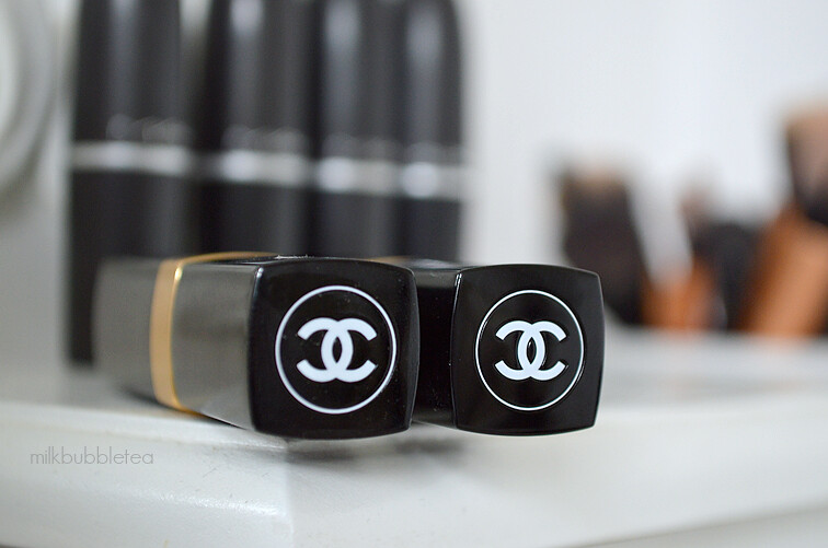 chanel lipsticks milk bubble tea blog