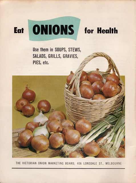 Onions! From a 60s meat industry cookbook