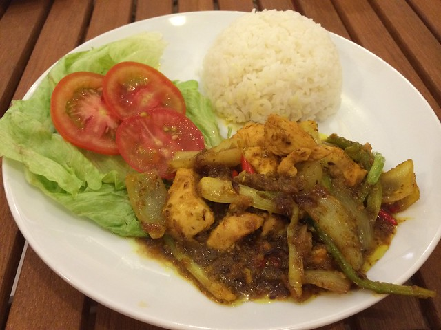 Chicken with chili and lemon grass - Sisters Cafe