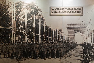 World War One Victory Parade Billboard
