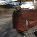 Rusty Mailbox in Vermont by cogdogblog