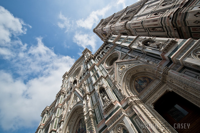 Under The Duomo Facade