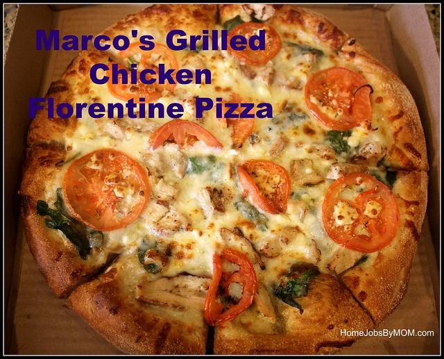 Marco's Grilled Chicken Florentine Pizza